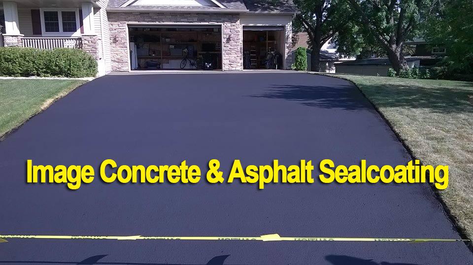 Image Concrete & Asphalt Sealcoating