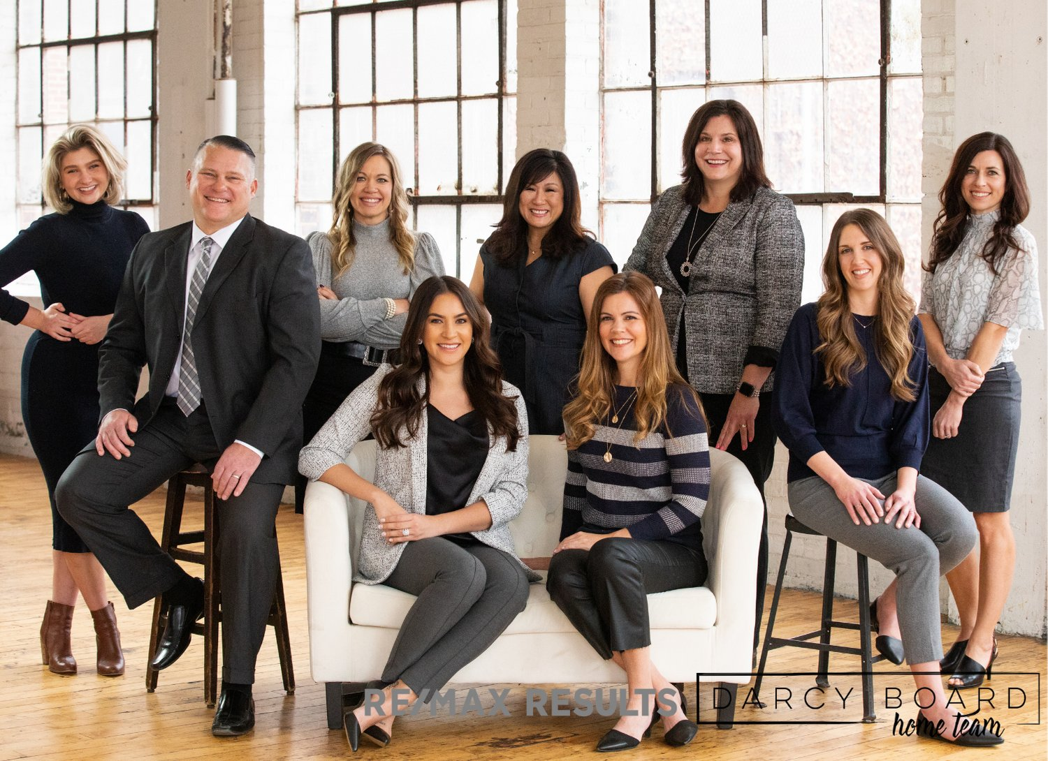 The Darcy Board Home Team with RE/MAX Results